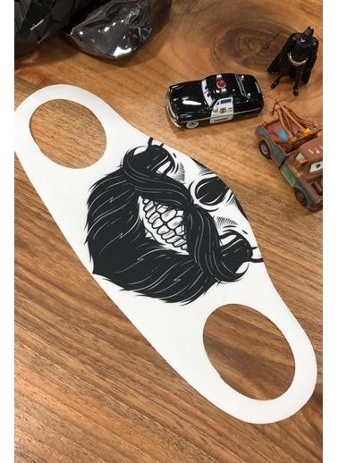 Noon Collection Maske Beyaz
